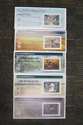 5 Migratory Bird Hunting Stamps New Unsigned 2003/04 Thru 2007/08