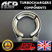 Brand New V-band Stainless Steel Clamp. 376 - 90mm 1.9, 2.0 Tdi. Turbocharger