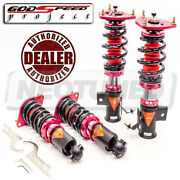 Godspeed Mmx2220-c Maxx Damper Coilovers Camber Plate Kit For Toyota Ft-86 17-20