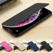 For Iphone 12 11 Xs Max Xs Xr Samsung Galaxy S20 Leather Flip Wallet Case Cover