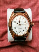 Versace V-master Automatic White Dial Black Leather Menand039s Watch