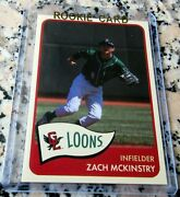 Zach Mckinstry 2018 Choice Sp Rookie Card Rc Los Angeles Dodgers Loons Hot