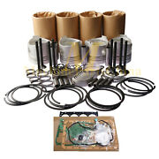 New Rebuild Kit For Caterpillar C2.2 C2.2t Turbocharged Aftercooled 216 247b3
