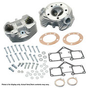 Sands Cycle - 90-1496 - Aluminum Super Stock O-ring Style Cylinder Head Kit Harley
