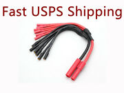 Hxt 4mm To 6 X 3.5mm Bullet Multi Rotor Esc Power Breakout Cable Hexacopter Rc