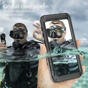 Waterproof Full-body Case With Built-in Screen Protector For Samsung S9 Plus S10