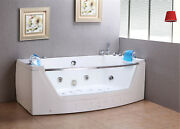 Whirlpool Massage Hydrotherapy Bathtub Hottub Privileg Double Pump 2 Two Persons