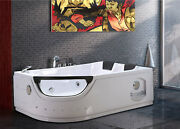Whirlpool Massage Hydrotherapy Bathtub Hot Tub Elite Double Pump 2 Two Persons