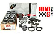 Stage 1 Engine Rebuild Kit W Flat Top Pistons For 1967-1985 Chevrolet 350 5.7l