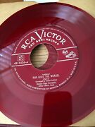 45 Rpm Records Rca Victor Label Red Seal Records Piano 19 Pcs. Collection