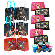 18pc Disney Coco Goody Bags,self-inking Stamper,wallet For Party Favors Supplies