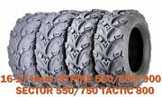 26x9-14 26x11-14 Atv Tires 16-17 Hisun Strike550/800/900 Sector550/750 Tactic800