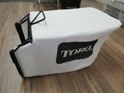 Genuine Toro 132-4483-03 And 115-4664 Grass Catcher Bag And Frame Rack Recycler