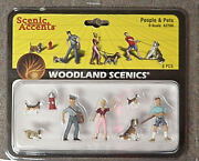 O Scale Figures Dogs People And Pets Woodland Scenics People 2768