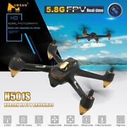 Hubsan X4 H501s Drone Only W/ Fpv 1080p Camera Headless Mode Brushless Motors