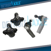 Front Lower Ball Joints + Outer Tierods Audi A3 Vw Jetta R32 Beetle Passat Fwd
