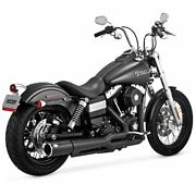 Vance And Hines Pro Pipe Black Harley Davidson Dyna 2012-2017