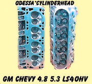 New Gm Chevy 4.8 5.3 Ohv Ls4 Silverado Tahoe Cylinder Heads Cast706 And862 99-05