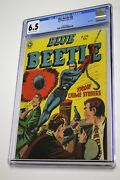 Blue Beetle 60 Cgc 6.5 Golden Age Last Issue Key 1950 Fox Features Very Rare