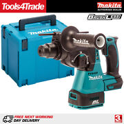 Makita Dhr242z 18v Lxt Brushless Sds+ Hammer Drill With Mak Case Type 4 + Inlay