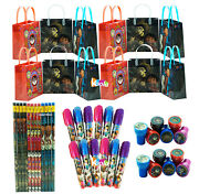 12 Sets Coco Disney Pixar Birthday Party Supply Favor Gift Bags 48pcs