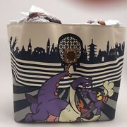 Dooney And Bourke Epcot Food And Wine Festival 2017 Figment Tote Bag Purse Disney Le