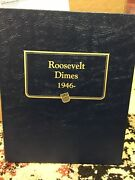 1946-2013 Set Silver And Clad Dimes In Album All Bu And Proof P-d-s 192 Coins 10c