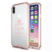 For Iphone Clear Shockproof Case Keep Calm Pretend Itand039s On The Lesson Teacher