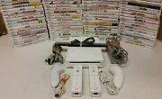 Nintendo Wii Console - Gamecube - 2 Sets Authentic Controllers Same Day Shipping