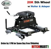 20k 5th Wheel Trailer Hitch W Roller 2016-2019 Chevy/gmc 6 1/2' Bed W Puck 16671
