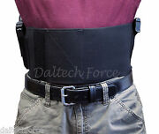2 Gun - 6 Wide Customizable Belly Band - Elastic Holster Ccw Holds Two Guns