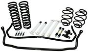 1968-72 Chevelle Suspension Kit - 1.5 Drop Big Block Coils Shocks And Sway Bars