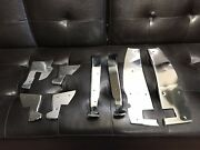 Mercedes 280se Coupe Conv Chrome Door Sills Fits. 1969 To 1971 W111 Chassis