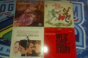 Soundtrack Vinyl 4 Lp Records Lot Wizard Of Oz And More