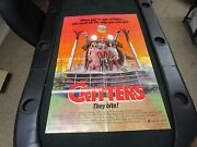 Vtg 1 Sheet 1986 Movie Poster Critters Dee Wallace Stone M. Emmet Walsh Monster