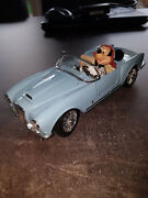 Extremely Rare Walt Disney Mickey Mouse Driving A Lancia Spider 1955 Car