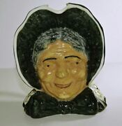 Blue Ridge China Southern Potteries Pioneer Woman Toby Jug With Makerand039s Marks