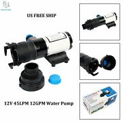 Free Shipping Amarine-made 12v 12gpm Boat/rv Self-priming Waste Water Pumps