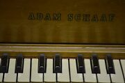 Adam Schaaf Antique Upright Piano With Bench And Cushion Number Of Keys 88