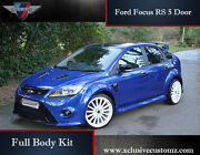 Ford Focus Mk2 Body Kit Focus Rs Style Conversion For The 5 Door Mk2 Focus