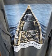 New Tide And Timber Long Sleeve Comfort T Shirt Decoy Canoe Lab