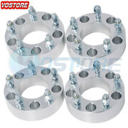 4 1.5and039and039 5x5 To 5x5 Wheel Spacers Adapters 14x1.5 For 1988-1999 Chevy C1500