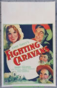 Fighting Caravans Movie Poster Ultra Rare 1931 Window Card Size Gary Cooper