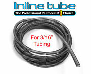 3/16 Brake Line Tube Spring Wrap Armor Guard Cover Tubing Protectant Ss 8ft