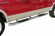 Steelcraft 5 Premium Oval Nerf Bars - Stainless Steel - 413809p