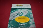 Case Industrial Tractor And Equipment For 1965 Dealers Brochure Yabe17