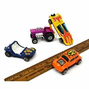 Vintage Hot Wheels And Matchbox Cars C.1967-72 Lot Of 4 Custom Vw Dune Daddy Rares