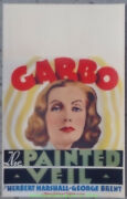 The Painted Veil Movie Poster Window Card 14x22 Size Greta Garbo 1934