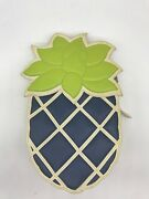 Moschino Cheap And Chic Blue Pineapple Bag Spring/summer 2013 Extremely Rare