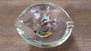 Vintage Murano Glass Fish Bowl By Dino Martens